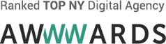Ranked TOP NY Digital Agency Awwwards